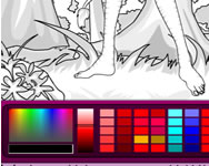 Avatar world coloring  j�t�kok